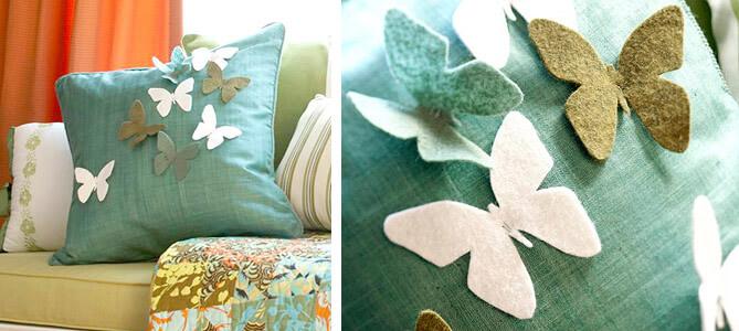 Декоративная подушка своими руками как сшить