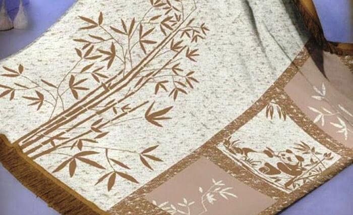 Плед из бамбука Arya