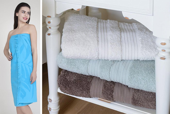 Размер банного полотенца