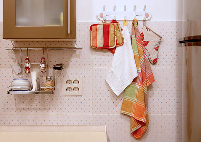Полотенца на кухню своими руками
