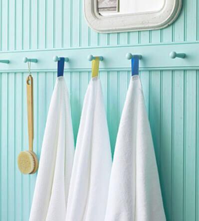 Крючок своими руками для полотенце