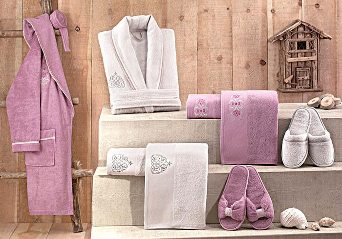 Полотенца и халаты для дома из хлопка