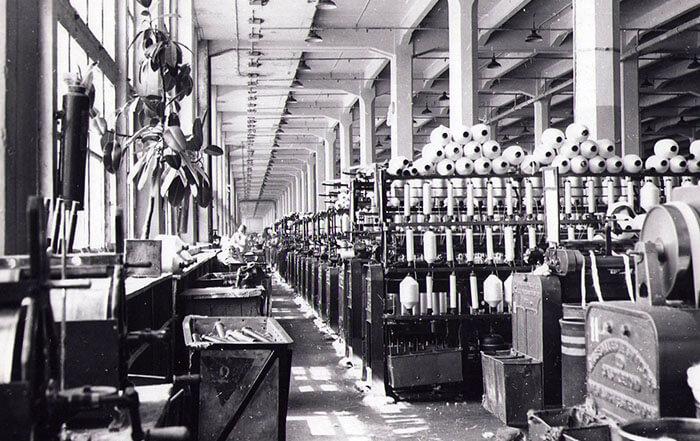 Иваново - текстильная фабрика (старая фотография)