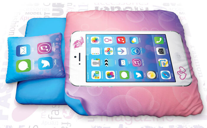 Подростковое постельное белье Glamour Phone (Непоседа)