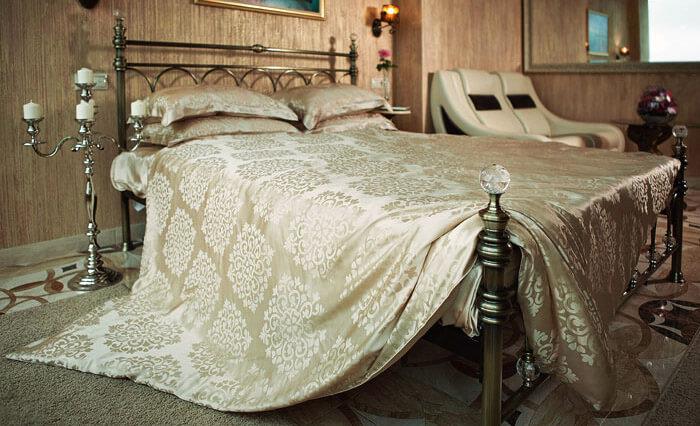 Постельное белье из шелка