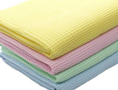 Вафельные полотенца из хлопка
