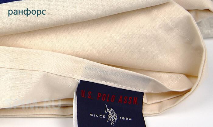 Постельное белье ранфорс (US Polo)
