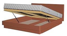 подъемный механизм, бельевой ящик