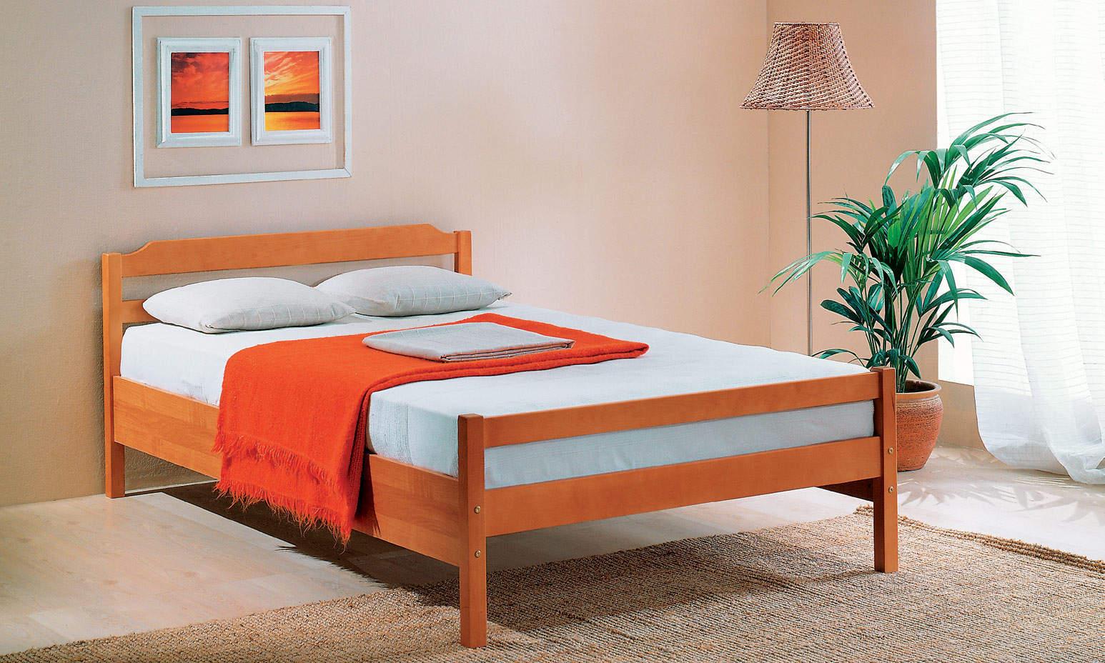 Купить двуспальную кровать цены и фото недорого
