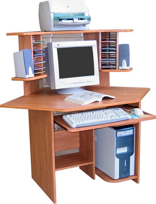 Угловой компьютерный стол СОКОЛ