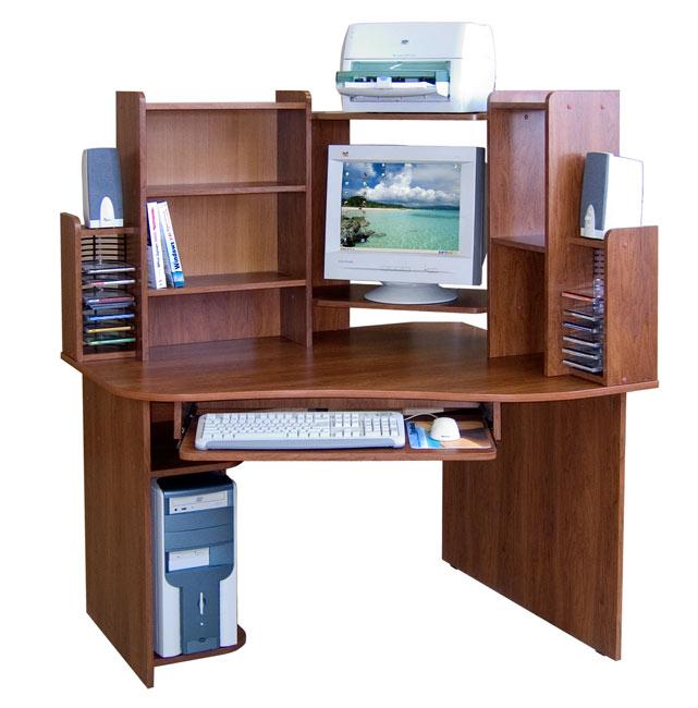 Компьютерный стол Сокол КСТ-05 + КН-06 левый