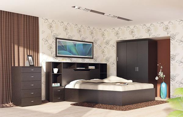 Набор мебели для спальни №1 Фран Ода