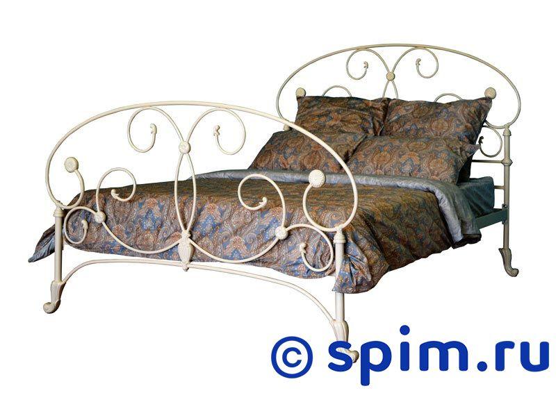 Кровать Dream Master Арина (1 спинка) 160х195 смМеталлические кровати Dream Master<br>Материал каркаса: металл (сталь). Размер  двуспальный: 160 x 195 см<br><br>Ширина см: 160<br>Длина см: 195