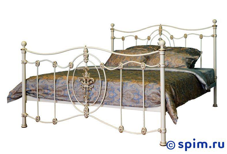 Кровать Dream Master Диана (1 спинка) 200х195 смМеталлические кровати Dream Master<br>Материал каркаса: металл (сталь). Размер  2-спальный: 200 x 195 см<br><br>Ширина см: 200<br>Длина см: 195