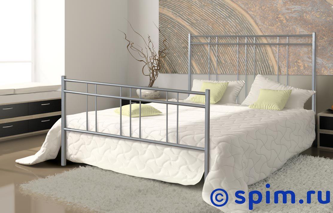 Кровать Dream Master Модена (2 спинки) 90х190 смМеталлические кровати Dream Master<br>Материал каркаса: металл (сталь). Размер Дрим Мастер Modena односпальный: 90 x 190 см<br><br>Ширина см: 90<br>Длина см: 190