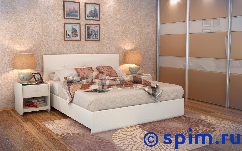 Кровать Аскона Isabella 180х200 смКровати Аскона <br>Чехлы на царгах несъемные. Каркас кровати: Дсп, фанера. Обивочная ткань: экокожа Экотекс. Размер Askona Изабелла двуспальный: 180 x 200 см<br><br>Высота мм: 1070