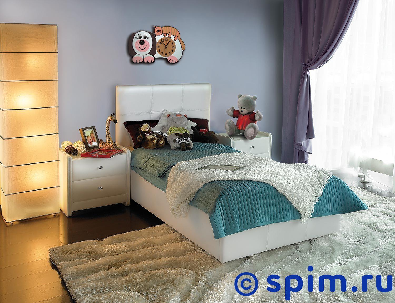 Кровать Аскона Leo 1 категория 80х200 смКровати Аскона <br>на кровать принимается обязательно в комплекте с основанием. Обивочная ткань: экокожа Mango. Каркас: Дсп, фанера. Размер Askona Лео односпальный: 80 x 200 см<br><br>Ширина см: 80<br>Длина см: 200