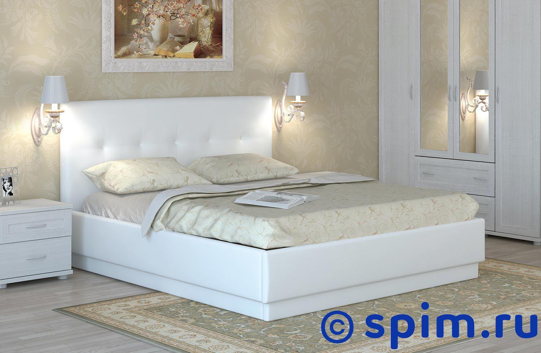 Кровать Арника Локарно интерьерная 140х200 см