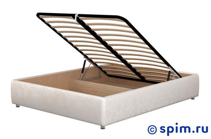 Кровать Орматек Como 1 Base цвета люкс и ткань 160х200 смКровати Орматек<br>Кровать без изголовья. Царги изготовлены из Дсп и обиты искусственной кожей высокого качества. Встроенное подъемное основание из березовых ламелей входит в стоимость кровати.  Размер Ormatek Комо 1 Басе двуспальный: 160 x 200 см<br><br>Ширина см: 160<br>Длина см: 200
