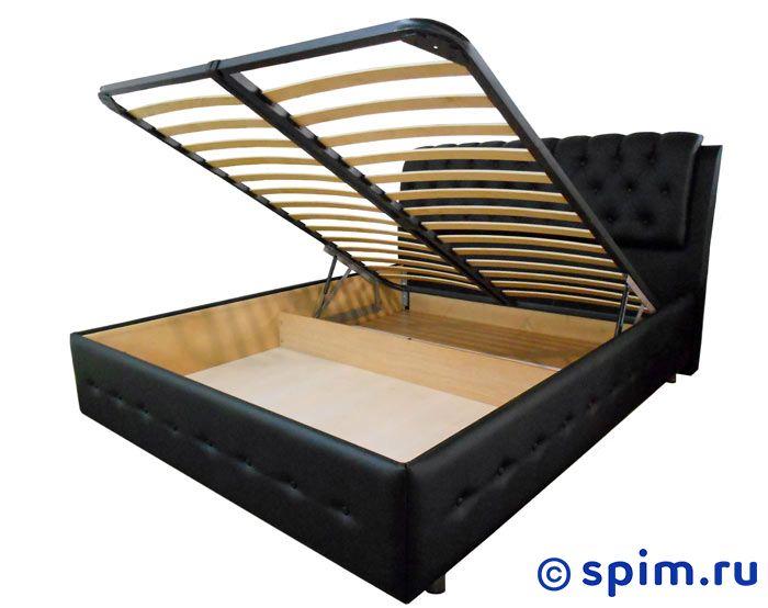 Кровать Como 4 Орматек 160х200 смКровати Орматек<br>С подъемным механизмом! Модель изготовлена из Дсп и обита искусственной кожей высокого качества. Изголовье и боковины украшены декоративными пуговицами. Встроенное подъемное основание из березовых ламелей входит в стоимость кровати.  Размер Комо 4 Ormatek двуспальный: 160 x 200 см<br><br>Ширина см: 160<br>Длина см: 200