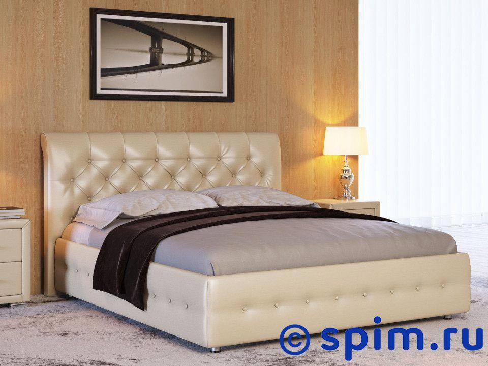 Кровать Life 4 (ткань и экокожа люкс) 140х200 смКровати Райтон<br>Материал: каркас из Дсп, обивка из экокожи класса Люкс или ткань. Основание: встроенное с березовыми ламелями. Размер Лайф 4 двуспальный: 140 x 200 см<br><br>Ширина см: 140<br>Длина см: 200