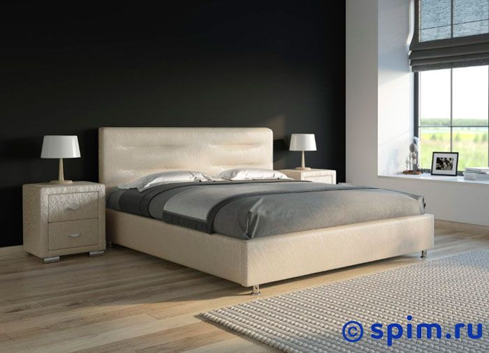 Кровать Райтон Nuvola 8 цвета люкс 200х200 смКровати Райтон<br>Материал: каркас - Дсп, Мдф; обивка - экокожа класса люкс. Размер Rayton Нувола 8 2-спальный: 200 x 200 см<br><br>Ширина см: 200<br>Длина см: 200