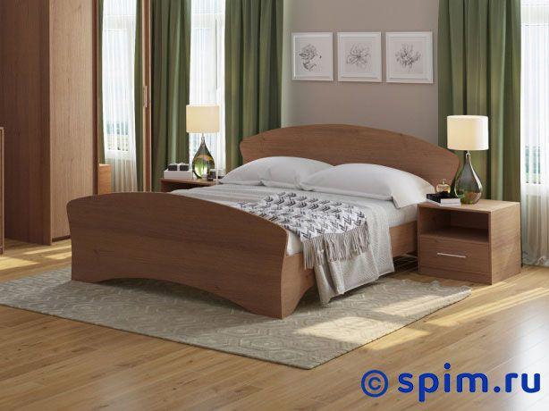 Кровать Соната 140х200 смКровати Райтон<br>Кровать из ламинированного Дсп. В комплекте с решеткой. Размер Sonata двуспальный: 140 x 200 см<br><br>Ширина см: 140<br>Длина см: 200