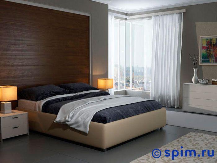 Кровать Орматек Veda 1 Base цвета люкс и ткань 200х200 см