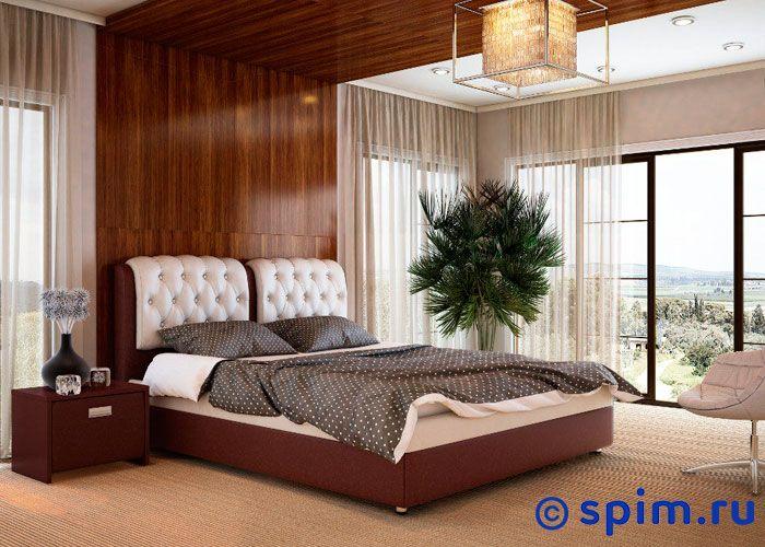 Кровать Орматек Veda 5 ткань и цвета люкс 200х200 смКровати Орматек<br>Встроенное основание из березовых ламелей входит в стоимость кровати. Каркас основания выполнен из металла. Кровать укомплектована ножками высотой 5 см. Ножки крепятся ко встроенному основанию. Размер Ormatek Веда 5 2-спальный: 200 x 200 см<br><br>Ширина см: 200<br>Длина см: 200