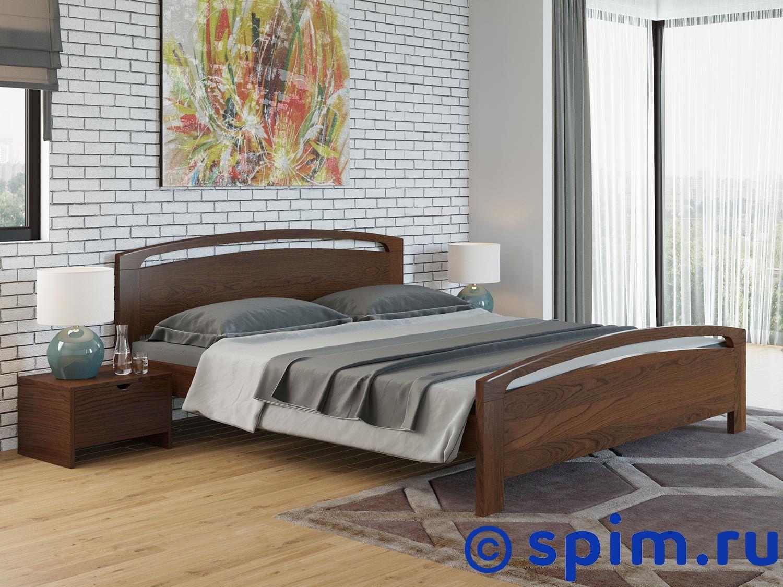 Кровать Райтон Веста 1 береза 160х200 смКровати Райтон<br>Материал: береза. Основание встроенное - ламели.  Размер Raiton Vesta 1 двуспальный: 160 x 200 см<br><br>Ширина см: 160<br>Длина см: 200