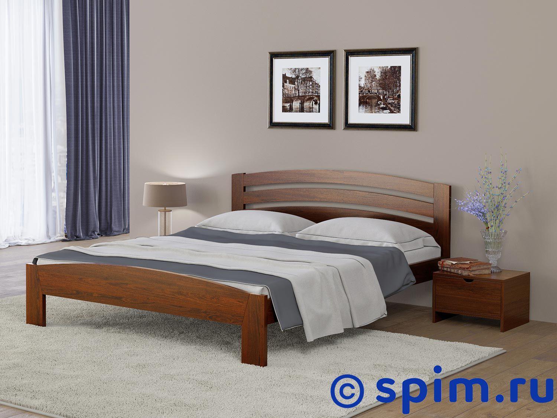 Кровать Райтон Веста 2 береза 180х200 смКровати Райтон<br>Материал: береза. Основание встроенное - ламели.  Размер Raiton Vesta 2 двуспальный: 180 x 200 см<br><br>Ширина см: 180<br>Длина см: 200