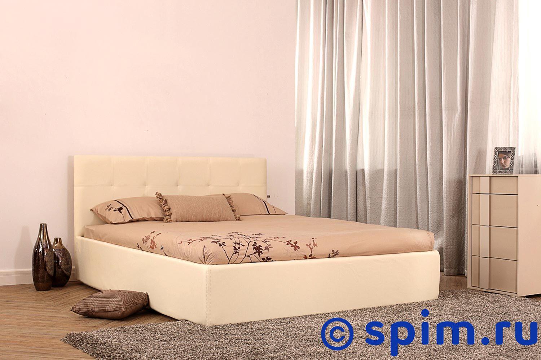 Кровать Perrino Сандра (категория 2) 120х200 смКровати Perrino<br>Материал: обивка - экокожа.  Размер Перрино Sandra полутораспальный: 120 x 200 см<br><br>Ширина см: 120<br>Длина см: 200