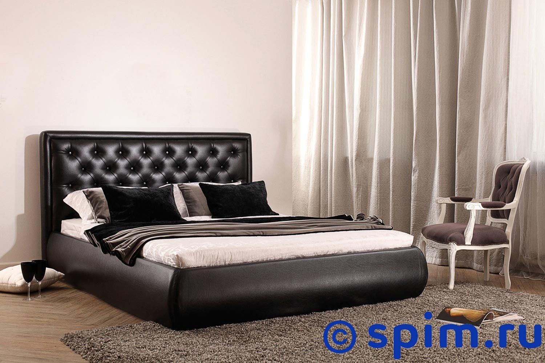 Кровать Perrino Вирджиния (категория 2) 140х200 смИнтерьерные кровати Perrino<br>Материал: Съемные чехлы на царгах. Обивка - экокожа. Размер Перрино Virdzhinia двуспальный: 140 x 200 см<br><br>Длина мм: 2220<br>Высота мм: 1100
