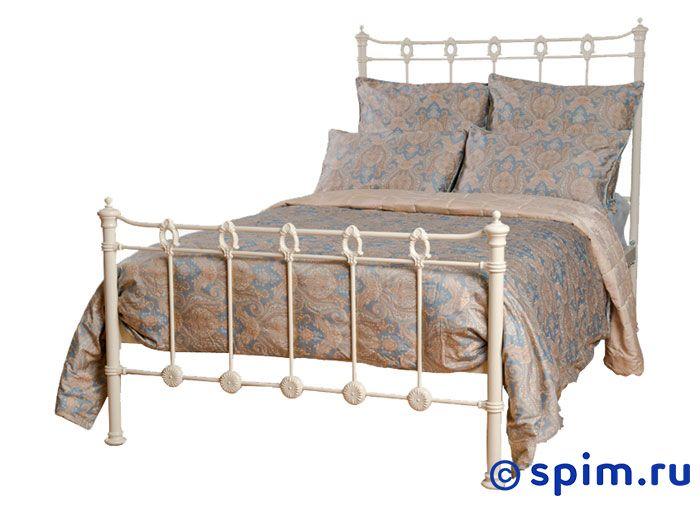 Кровать Капель (2 спинки) Dream Master 120х200 смМеталлические кровати Dream Master<br>Материал каркаса: металл (сталь). Размер Kapel Дрим Мастер полутораспальный: 120 x 200 см<br><br>Ширина см: 120<br>Длина см: 200