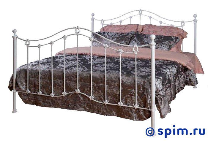 Кровать Карина (2 спинки)  Dream Master 120х190 смМеталлические кровати Dream Master<br>Материал каркаса: металл (сталь с элементами литья). Размер Karina Дрим Мастер 1,5-спальный: 120 x 190 см<br><br>Ширина см: 120<br>Длина см: 190