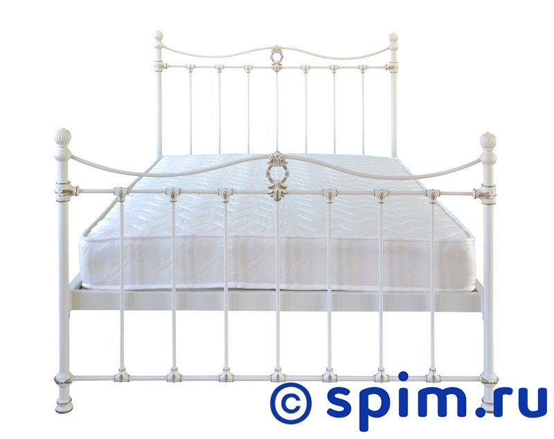 Кровать Тая (2 спинки) Dream Master 90х195 смМеталлические кровати Dream Master<br>Материал каркаса: металл (сталь с элементами литья).  Размер Taya Дрим Мастер односпальный: 90 x 195 см<br><br>Ширина см: 90<br>Длина см: 195