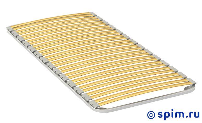 Основание Toris Прайм 2 80х200 смОснования Торис<br>Металлический каркас с гнутыми ламелями из березы на эластичных амортизаторах. Поставляется без ножек. Дополнительно можно приобрести ножки. Размер  односпальный: 80 x 200 см<br><br>Ширина см: 80<br>Длина см: 200