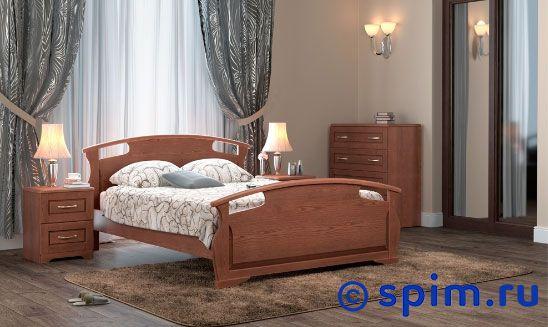 Кровать DreamLine Афродита 160х195 смКровати DreamLine<br>Материал: каркас из массива бука, основание с гнутыми березовыми ламелями. Размеры спального места (ширина х длина), см: 90х190/195/200, 120x190/195/200, 140х190/195/200, 160х190/195/200, 180х190/195/200, 200х190/195/200.  *Матрас, комод и тумбы в стоимость кровати не входят. Размер ДримЛайн Afrodita двуспальный: 160 x 195 см<br><br>Ширина см: 160<br>Длина см: 195