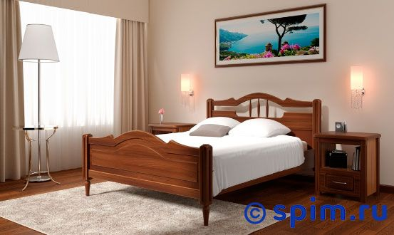 Кровать DreamLine Луиза 120х200 смКровати DreamLine<br>Материал: каркас из массива бука, основание с гнутыми березовыми ламелями. Размеры спального места (ширина х длина), см: 90х190/195/200, 120x190/195/200, 140х190/195/200, 160х190/195/200, 180х190/195/200, 200х190/195/200.  *Матрас и тумбы в стоимость кровати не входят. Размер ДримЛайн Luiza полутораспальный: 120 x 200 см<br><br>Ширина см: 120<br>Длина см: 200