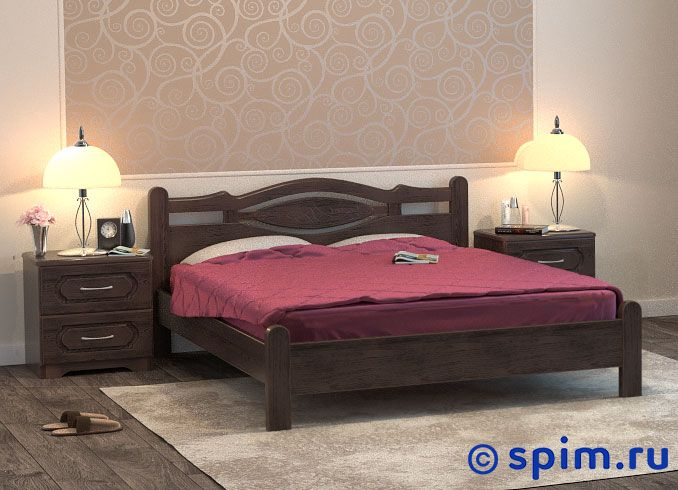Кровать DreamLine Орден 1 160х190 см матрас dreamline prime soft s 2000 160 195