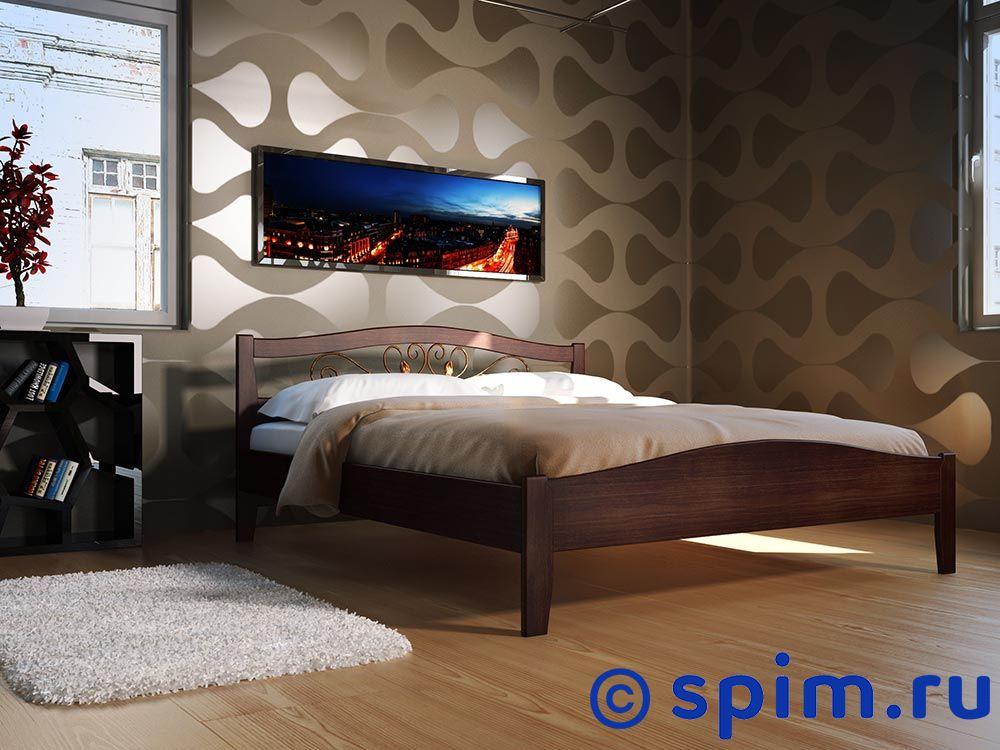 Кровать DreamLine Верона 1 160х190 см матрас dreamline prime soft s 2000 160 195