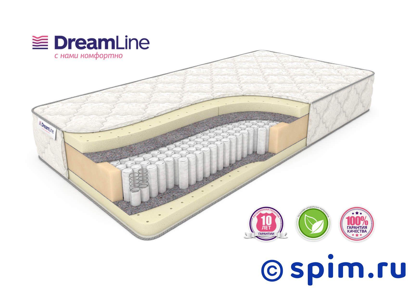Матрас DreamLine Prime Soft S1000 120х195 смМатрасы DreamLine Prime<br>Мягкий матрас на независимых пружинах Multipoket S1000 (500 шт/м2), с прослойками натурального латекса. Несъемный чехол из трикотажа. Высота: 27 см. Нагрузка: до 140 кг. Размер ДримЛайн Приме Софт С1000: 120 x 195 см<br><br>Ширина см: 120<br>Длина см: 195<br>Линейка: Prime