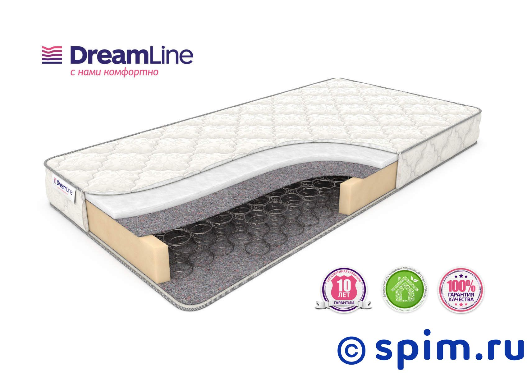 Матрас DreamLine Single Hol Bonnell 200х195 см