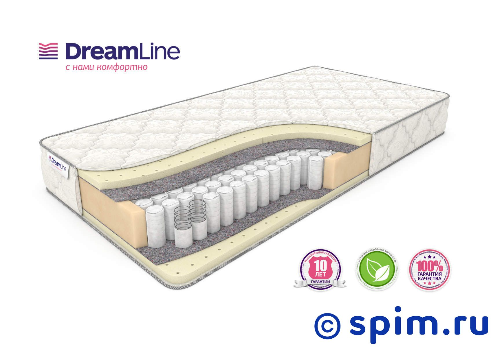 Матрас DreamLine Sleep 3 Tfk 180х200 см