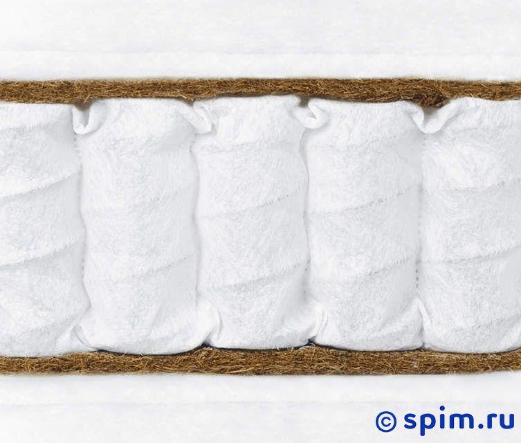 Матрас Консул - Элит кокос 150х195 смМатрасы Консул Элит<br>Жесткий матрас на независимых пружинах (340 шт/м2) с прослойками кокосовой койры (1 см). Несъемный чехол из хлопкового жаккарда или эластичного трикотажа. Ручек нет. Высота: 19 см. Размер Consul Elit cocos двуспальный: 150 x 195 см<br><br>Ширина см: 150<br>Длина см: 195<br>Линейка: Элит