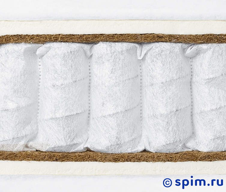Матрас Консул - Элит латекс - кокос 90х195 смМатрасы Консул Элит<br>Матрас средней жесткости на независимых пружинах (340 шт/м2) с прослойками натурального латекса (2 см) и кокосовой койры (1 см). Несъемный чехол из хлопкового жаккарда или эластичного трикотажа. Ручек нет. Высота: 22 см.  Размер Consul Elit latex-cocos односпальный: 90 x 195 см<br><br>Ширина см: 90<br>Длина см: 195<br>Линейка: Элит