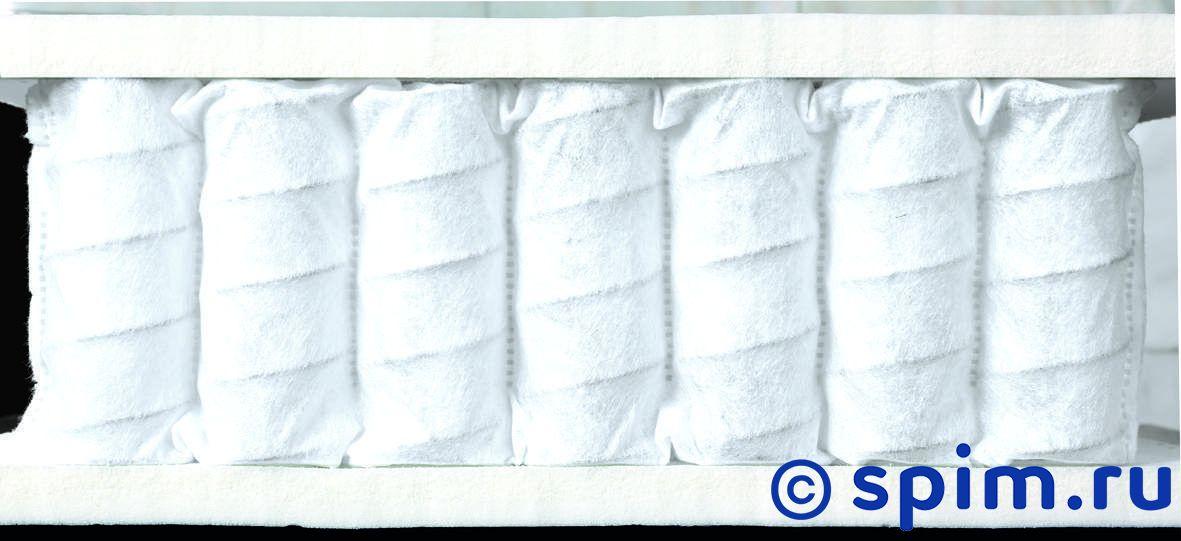 Матрас Консул Мельбурн 150х195 смМатрасы Консул Быстрее<br>Мягкий матрас на 3-х зонном блоке независимых пружин (340 шт/м2), с прослойками натурального латекса (2 см). Несъемный чехол из трикотажа. Ручек нет. Есть смотровая молния. Нагрузка, кг: 90. Высота, см: 21. Размер Consul Melburn двуспальный: 150 x 195 см<br><br>Ширина см: 150<br>Длина см: 195<br>Линейка: Sport Line