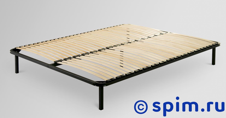 Основание Классик с узкими берёзовыми ламелями на металлокаркасе Л-37 120х200 смОснования Классик<br>Основание с узкими березовыми ламелями на металлокаркасе. Данное основание отличается от основания с широкими ламелями большим количеством узких ламелей, что позволяет улучшить анатомические свойства, а также увеличить прочность и долговечность конструкции.   Размер  полутораспальный: 120 x 200 см<br><br>Ширина см: 120<br>Длина см: 200