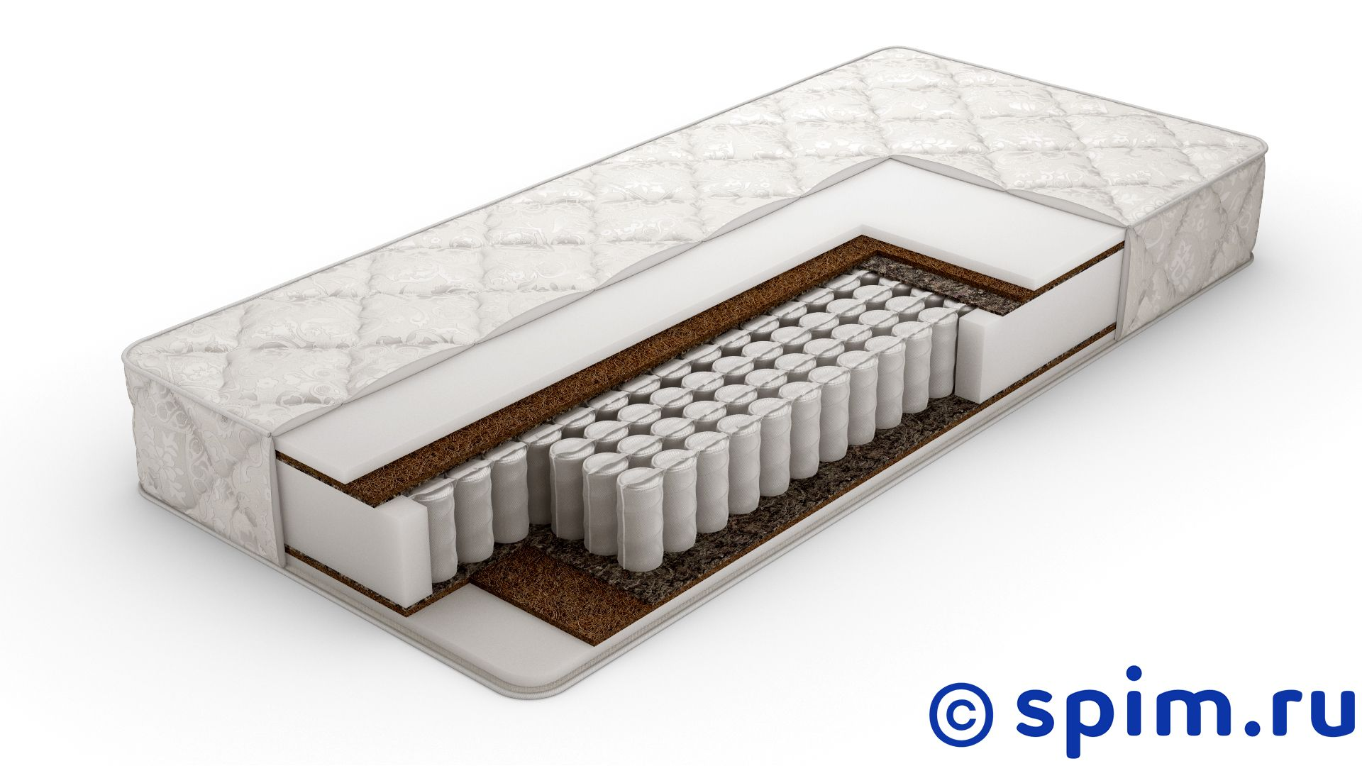 Матрас DreamExpert Base Foam 15 Hard Tfk Lite 90х200 см от spim.ru