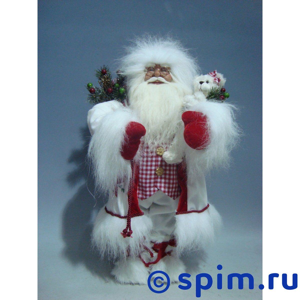 Интерьерная кукла Дед Мороз C21-241043Интерьерные куклы<br>Высота: 60 см.<br>